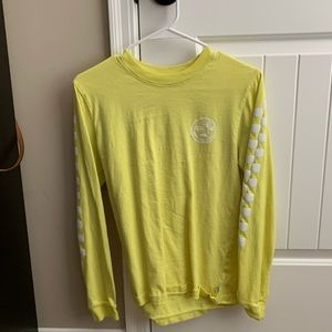 Tops - Vans Yellow Long sleeve